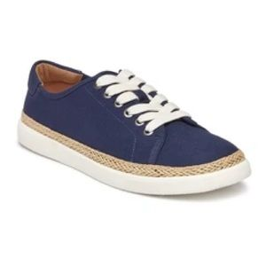 Vionic Hattie deep blue lace up casual sneaker
